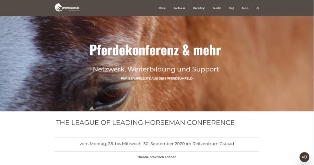 Pferdekonferenz 2020
